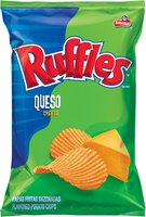 Ruffles® Queso Flavored Potato Chips 8.5 oz Bag