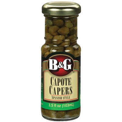 B&G Capote Spanish Style Capers 3.5 Oz Jar