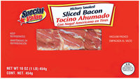 Special Value Hickory Smoked Sliced Bacon 16 Oz Package