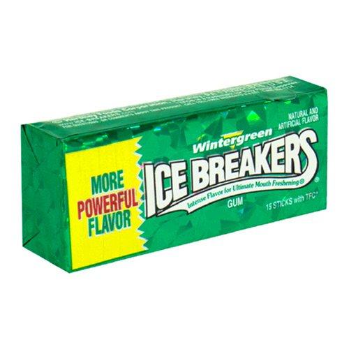 ICE BREAKERS WINTERGREEN GUM STICKS