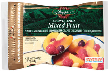 Haggen, Unsweetened Mixed Fruit 1 lb