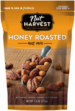 Nut Harvest® Honey Roasted Nut Mix 5.5 oz. Bag