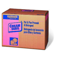 Cream Suds 25 lbs Manual Pot and Pan Detergent with Phosphate Baby Powder Scent Powder Box