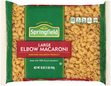 Springfield® Large Elbow Macaroni 16 oz. Bag