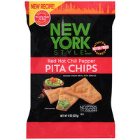 New York Style® Red Hot Chili Pepper Pita Chips 8 oz. Bag