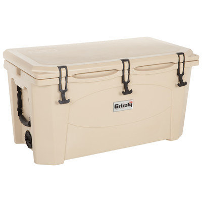 Lantern Post Company Grizzly Coolers 75 Tan/Tan Tailgating Cooler