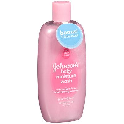 Johnson's® Baby Moisture Wash 20 fl oz Plastic Bottle