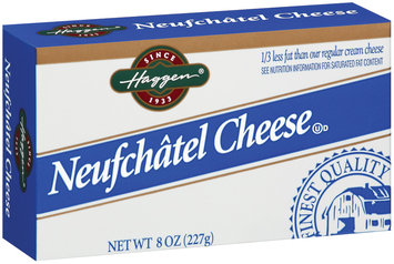Haggen Neufchatel Cream Cheese 8 Oz Box