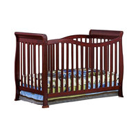 Dream on Me Violet 7 in 1 Convertible Life Style Crib - Cherry