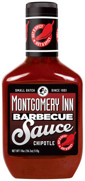 Montgomery Inn Chipotle Barbeque Sauce 18 oz. Bottle