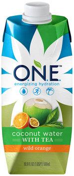 O.N.E.™ Wild Orange Coconut Water with Tea 16.9 fl. oz. Carton
