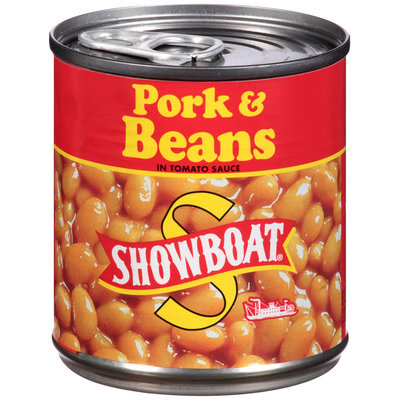 Showboat® Pork & Beans in Tomato Sauce