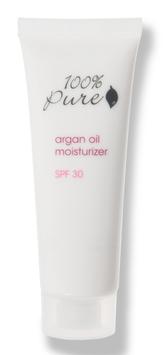 100% Pure Organic Argan Oil Facial Moisturizer Spf 30