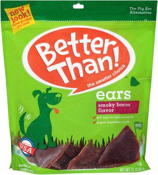 Better Than!™ Smoky Bacon Flavor Ears Premium Dog Treats 31.1 oz. Bag