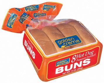 Golden Creme Hot Dog 8 Ct Buns 12 Oz Bag