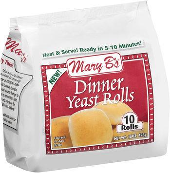 Mary B's® Dinner Yeast Rolls 15 oz. Bag