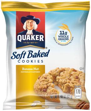 Quaker® Soft Baked Banana Nut Cookies