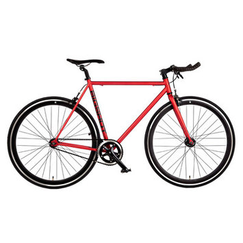 Big Shot Bikes Madrid Single Speed Fixed Gear Road Bike Size: 60cm