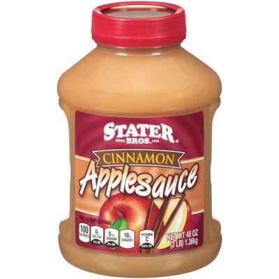Stater Bros® Cinnamon Applesauce