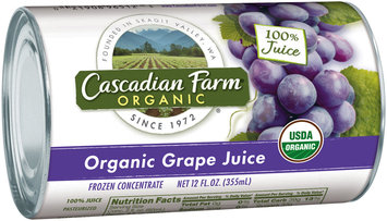 Cascadian Farm Organic Grape Juice