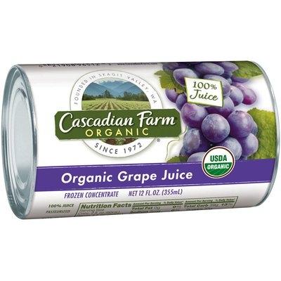 Cascadian Farm® Organic Grape Juice Frozen Concentrate 12 fl. oz. Can