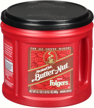 Folgers® Maryland Club® Butter-Nut® Ground Coffee 31.1 oz. Canister