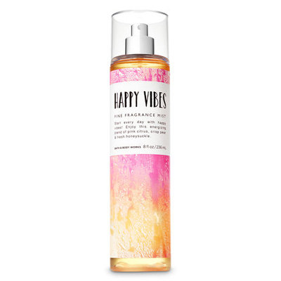 Bath & Body Works HAPPY VIBES Fine Fragrance Mist