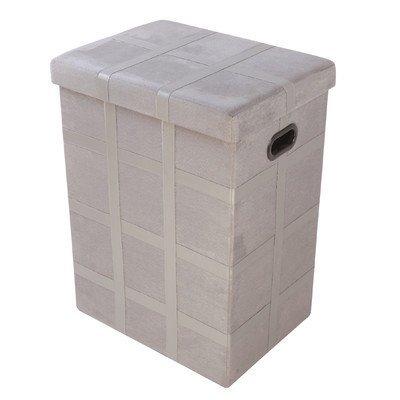 Hodedah Foldable Storage Laundry Box