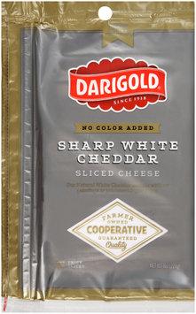 Darigold® Sharp White Cheddar Sliced Cheese 12 oz. Bag