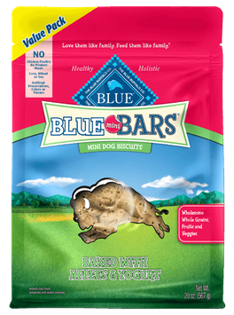 THE BLUE BUFFALO CO. BLUE™ Mini Bars® Apples & Yogurt Mini Dog Biscuits