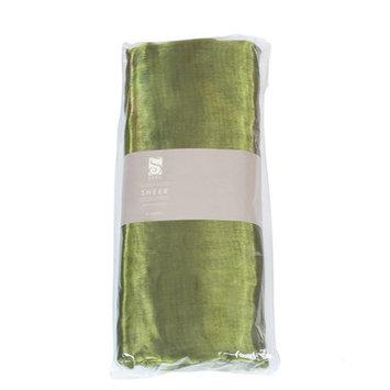 Saro Organza Fabric Bundle Color: Green