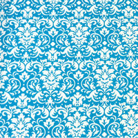 Stwd Damask Sleepi Fitted Crib Sheet Color: Turquoise