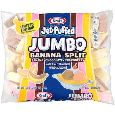 Jet-Puffed Jumbo Banana Split Marshmallows 20 oz. Bag