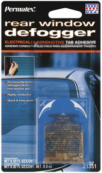 Permatex® 21351 Electrically Conductive Carded 2-Part Rear Window Defogger Tab Adhesive 1 Ct Peg