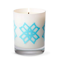 B By Brandie Huntington's Pink Grapefruit Designer Candle Color: Turquoise