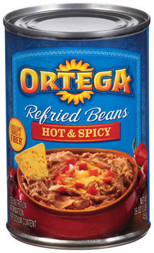 Ortega® Hot & Spicy Refried Beans 16 oz. Can
