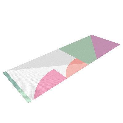 Kess Inhouse Pastel Play 3X by Mareike Boehmer Yoga Mat