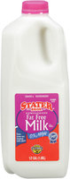 Stater Bros.® Homogenized Fat Free Milk .5 Gal.