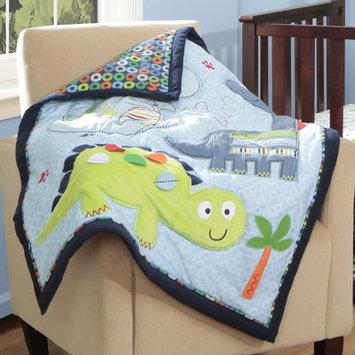 Baby Boom Bananafish Little Dinos Blanket