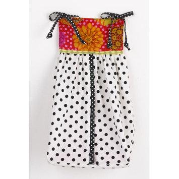 Cotton Tale Tula Diaper Stacker (Pink/White/Black)
