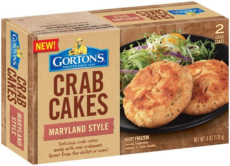 Gorton's® Maryland Style Crab Cakes 6 oz. Box