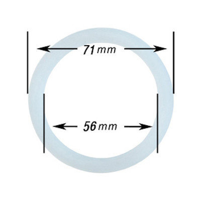 Cuisinox 3 Cup Silicone Gasket for Aluminum Espresso Maker Size: 6 Cups