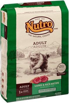 Nutro® Adult Lamb & Rice Recipe Dog Food 30 lb. Bag