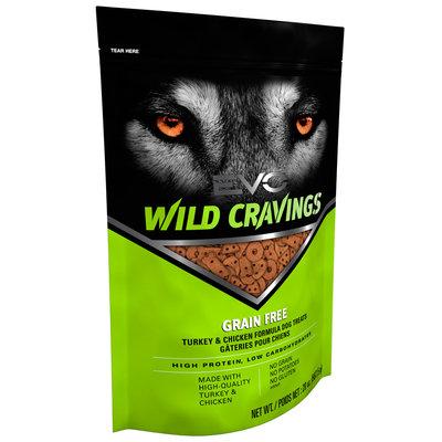 EVO Wild Cravings Turkey & Chicken Formula Dog Treats 20 oz. Pouch