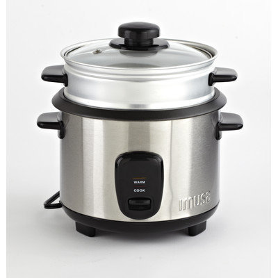 Imusa 10 Cup Rice Cooker With Steam Tray