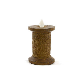 Sheaswildflowers Novelty Candle Color: Brown, Size: 5