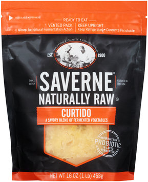 Saverne® Raw Natural Curtido 16 oz. Pouch