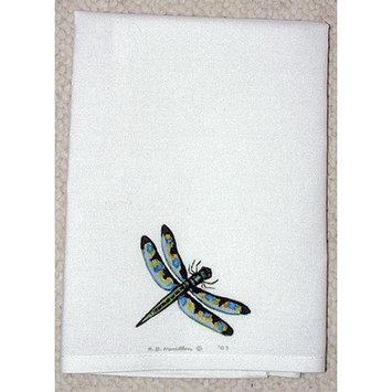 Betsy Drake Interiors Garden Dragonfly Hand Towel (Set of 2)