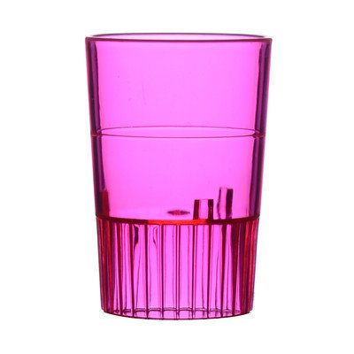 Fineline Settings, Inc Quenchers Disposable Plastic 1 oz. Neon Shooter (500/Case), Red
