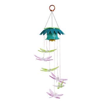 Evergreen Enterprises, Inc Dragonflies Color Changing Solar Mobile